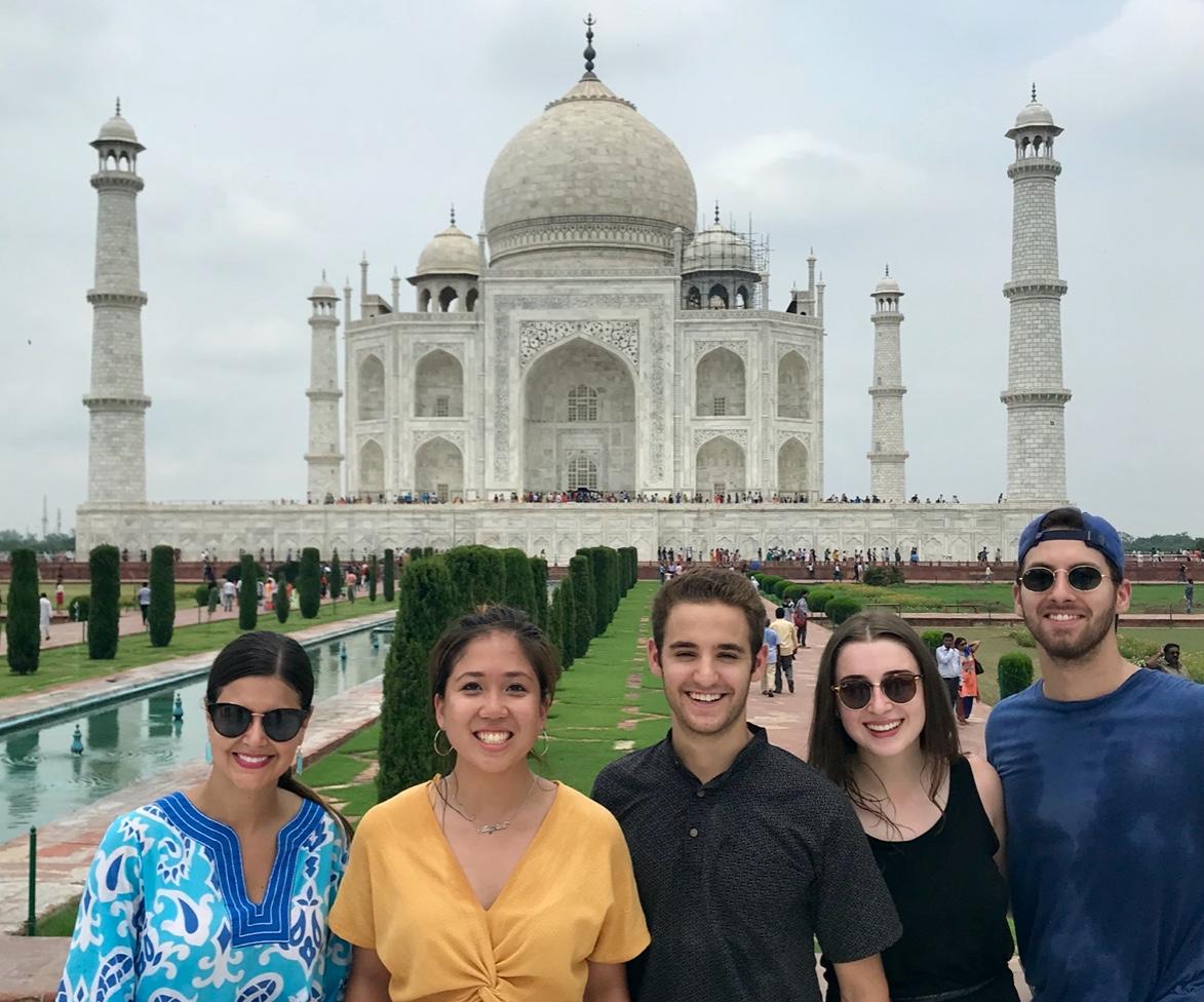 Global Entrepreneurial Fellowship students in India